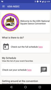 65th NSDC Convention Schedule apk app