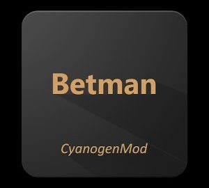 Betman Theme for CM1312.x
