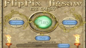 FlipPix Jigsaw Eye Candy apk app