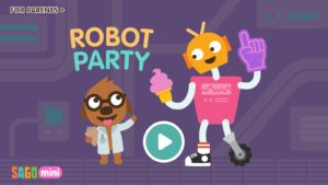 Sago Mini Robot Party apk app