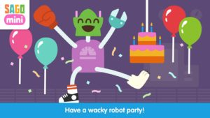 Sago Mini Robot Party android app