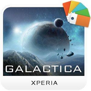 XPERIA Galactica Theme apk game
