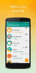 Countdown for Events Pro apk