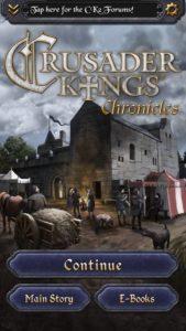 Crusader Kings Chronicles apk free