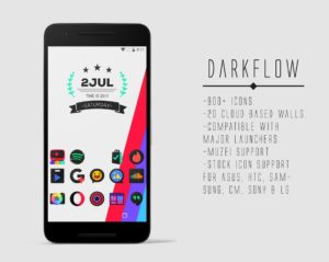 DarkFlow Icon Pack apk