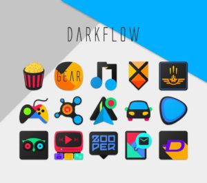 DarkFlow Icon Pack android