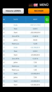 DocZins% FinancialCalculator android