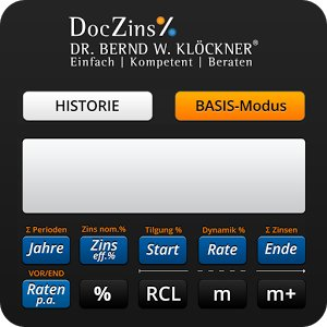 DocZins% FinancialCalculator