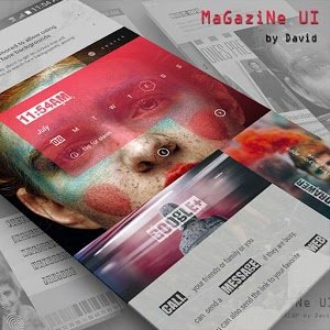 MaGaziNe UI for KLWP
