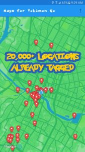 Maps for Pokemon Go apk free
