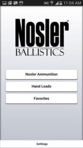 Nosler Ballistics 2.0 android free