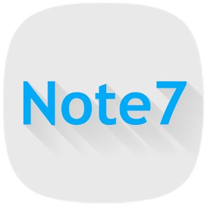 Note 7 Icon Pack