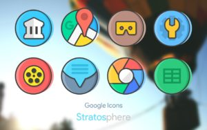 Stratos Icon Pack android free