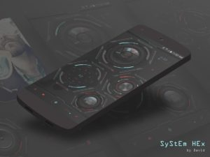 SyStEm HEx for KLWP apk