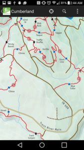 TrailMapps Cumberland android
