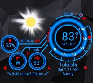Weather Geek (Weather Widget) android
