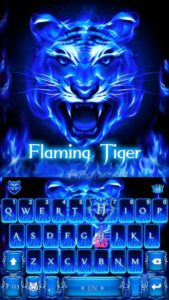 Flaming Tiger Kika Keyboard apk free