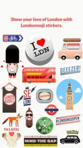 Londonmoji London stickers! apk free