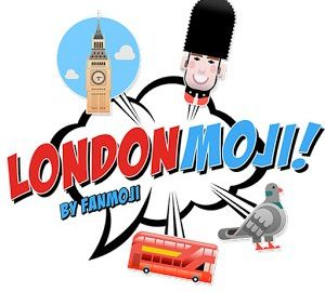 Londonmoji London stickers