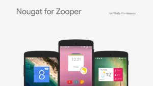 Nougat for Zooper apk free