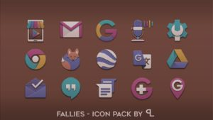 Fallies Icon pack fall theme apk free