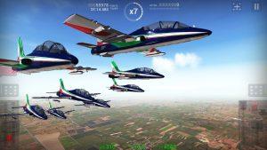 Frecce Tricolori Flight Sim apk free