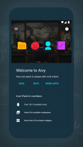 Aivy Icon Pack Android Free