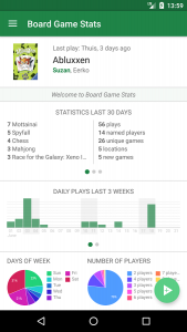 Board Game Stats Play tracking for tabletop games android free