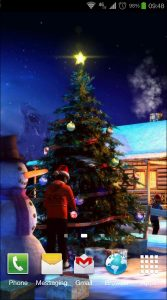 Christmas 3D Live Wallpaper android free