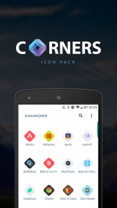 Corners HD icon pack android free
