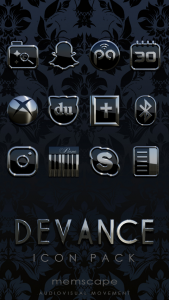 DEVANCE Icon Pack Apk Free