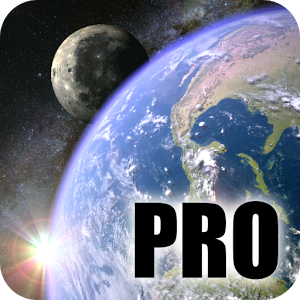 Earth & Moon in HD Gyro 3D PRO Parallax Wallpaper Apk Free Download