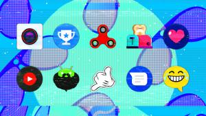 Glitch Icon Pack apk free