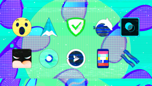 Glitch Icon Pack android free