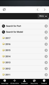 Harley Motorcycles OEM Parts Stream ALL MODELS apk free