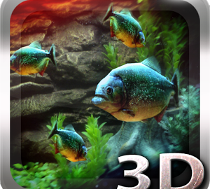 Piranha Aquarium 3D lwp Apk Free Download