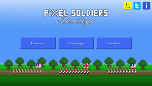 Pixel Soldiers Saratoga 1777 apk android game