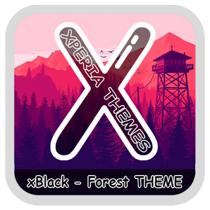 xBlack Forest Theme Apk Free Download