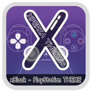 xBlack PlayStation Theme Apk Free Download