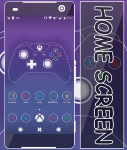 xBlack Xbox Theme apk free